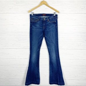 7 For All Mankind • Jiselle Flare Leg Jeans